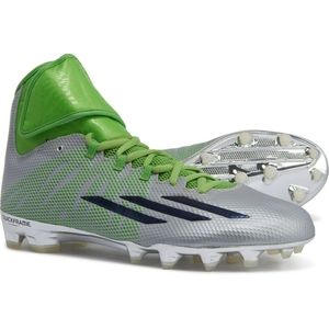 ADIDAS ASP Platinum Green Football Cleats NEW